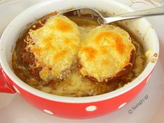 Recipes and Desserts from Greece Souped Up, Kitchen Stories, Onion Soup, French Onion, Cornbread, Soup Recipes, Macaroni And Cheese, Vegetarian, Dinner
