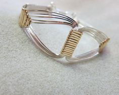 Grecian Bracelet14K gold filled 925 Sterling by watercolorsNmore, $95.00