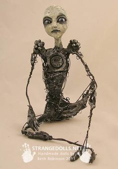 Fantasy | Whimsical | Strange | Mythical | Creative | Creatures | Dolls | Sculptures | Beth Robinson