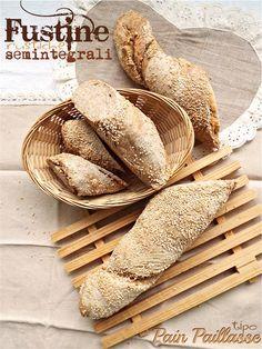 I biscotti della zia: Fustine rustiche tipo Pain Paillasse
