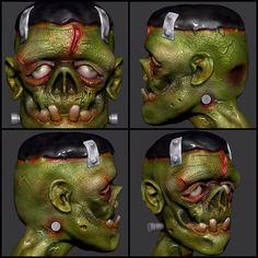 Frankenstein zbrush