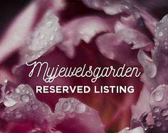 Riservati per gennaio Real Rose foto Locket, catena in argento sterling 925, fiori secchi racchiusi in resina di cristallo, gioielleria italiana myjewelsgarden