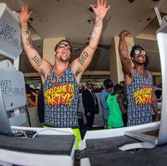Sky Blu of LMFAO and Shwayze as Sky Blu launches DJ residency