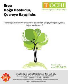 Erpa ve Tochi Doğa Dostudur ! http://www.erpamonitor.com    I  #doga #tabiat #agac #biti #sosyalmedya #haber #atik