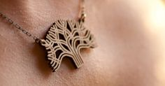 Antietam Designs – laser cut jewelry modeled after Oakland city trees and other local inspirations