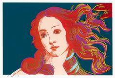 Warhol Birth of Venus, 1984