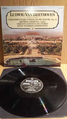 L.V.BEETHOVEN. GRANDES COMPOSITORES Nº 3. LP / PHILIPS ***/***