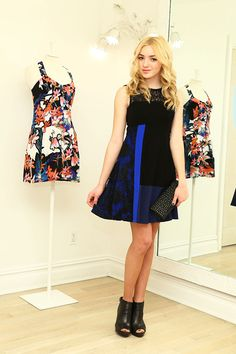 Help Peyton List Decide What to Wear Front Row at Nanette Lepore's NYFW Show