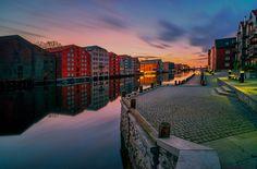 Trondheim Brygga and Nidelva by Aziz Nasuti on 500px