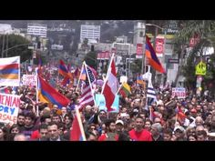 100th Year Armenian Genocide March Los Angeles - 2015 - YouTube