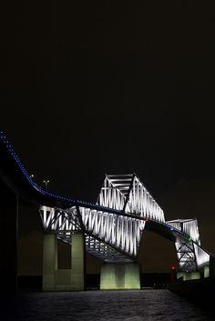 Tokyo Gate Bridge(2020 Tokyo Olympic/Paralympic Special Lighting)