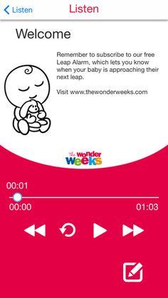 The Wonder Weeks - Audiobook Listen to The Wonder Weeks WHENEVER, WHEREVER!!! https://itunes.apple.com/us/app/the-wonder-weeks-audiobook/id1109313007?mt=8