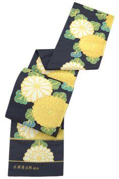 【となみ】謹製 特選西陣織袋帯 「永楽善五郎好み・雅菊」