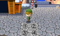 A little lighter, but still a very close match to the Animal Crossing stone work - Animal Crossing New Leaf QR Codes Stone Path, Stone Work, Acnl Paths, Ac New Leaf, Happy Home Designer, Hay Day, Animal Crossing Qr Codes Clothes, Work With Animals, Animal Games