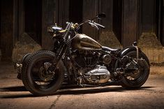 Harley in a Dnepr K750 fram, by Richard of Berlin's Metric Customs. Doing the hard things BECAUSE they are hard to do.