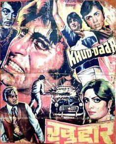 "Khud-Daar (1982). This Ravi Tandon directed movie stared  Sanjeev Kumar, Amitabh Bachchan, Parveen Babi, Vinod Mehra, Bindya Goswami, Prem Chopra and Mehmood and  Music by R.D. Burman had hit songs like ""Angreezi Mein Kehta Hain"", ""Oonche Neeche Raaste"",  ""Disco 82"" and the evergreen ""Mach Gaya Shor"""