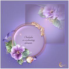 Lilacism - Payhip Molduras Vintage, Photoshop 7, Lily Bloom, Stationary Design, Lilac Color, Petunias, Vignettes, Flower Art, Invitations