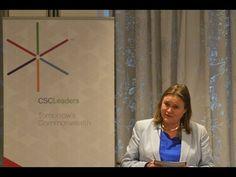 "CSCLeaders Talks 2014: ""Cultural Intelligence"" - Julia Middleton, Founde..."