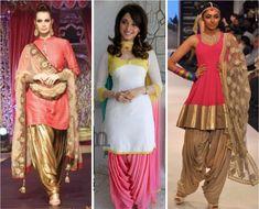 designer patiala salwar suits by manish malhotra - Google Search