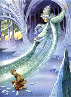The Snow Queen illustrated by JOHN PATIENCE.