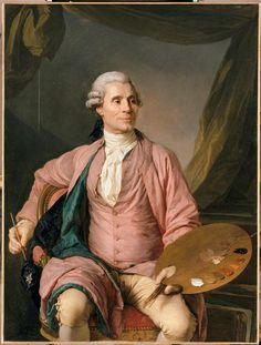Jean-Marie Vien (1716-1809), peintre par Joseph Siffred Duplessis