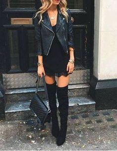 The latest selection of casual fall outfits you can wear everyday this season. More outfit ideas curated every week just for you. Fashion Mode, Look Fashion, Fashion Outfits, Womens Fashion, Fashion Trends, Fall Fashion, Fashion Black, Latest Fashion, Dress Fashion