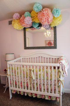 Baby Nursery Pom Poms