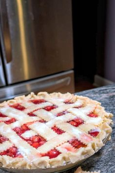 Sour Cherries from Michigan are a revelation, to those who've never tasted them before. In this post, I teach you how to make The Best Homemade Cherry pie, and my recipe uses frozen sour cherries from Michigan. #cherries #cherrypie #recipe #sourcherries #frozensourcherries Sour Cherry Pie, Michigan Cherries, Homemade Cherry Pies, Pastry Shells, Frozen Cherries, Fruit Pie, Pie Crust Recipes, Recipe Using, Food Porn