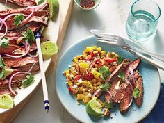 Grilled Chile-Lime Flank Steak