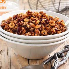 Multi-Grain+Maple+Granola from Crisco®