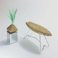 ☆2017 ☆DWR☆ Champagne Chair Challenge☆ #dwrchampagnechair #designwithinreach #3Ddesign #interior #design #art #interiordesign #homedecor #furniture #diy #surfstyle #planter #plants #natural #cork #wire #foil #modern #simplicity  #wlxdesign