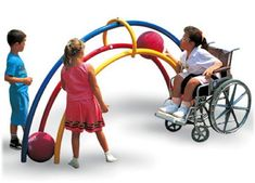 Rainbow Arch Playground Equipment | Active Play Toys | e-Special Needs $1385