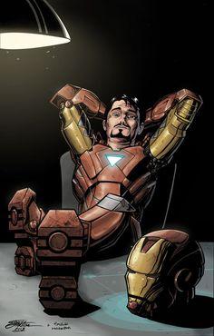 """""""Tony Stark"""" by Gabriel Jardim"""
