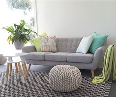 Like the colours. Sofa is really nice too but not sure if too small and don't…