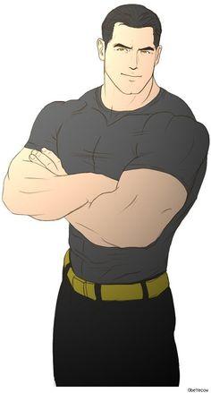 Bruce Wayne (Batman) by ObeYecow Frm Colin Hester's bd: Batman Male Character, Comic Character, Comics Illustration, Illustrations, Comic Books Art, Comic Art, Witcher Wallpaper, Beauté Blonde, Fantasy Art Men