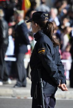 Spanish National Police high-readiness