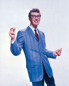 """Charles Hardin Holley, known professionally as Buddy Holly, was born on 9/7/36 in Lubbock .  He was an  singer-songwriter & a pioneer of rock n roll. Although his success lasted only 1 1/2 yrs before his death in an plane crash on 2/3/59, Holly is described as """"the single most influential creative force in early rock and roll."""" His works inspired the Beatles, Elvis Costello, the Rolling Stones, and Bob Dylan, and exerted a profound influence on popular music."""