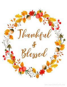 Free for you today is this Thankful & Blessed fall printable. I hope you enjoy it in your home as much as I do in mine! I love touches of ...
