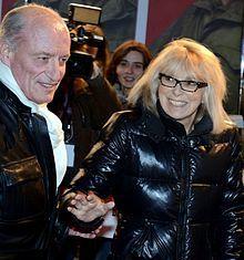 2014年2月 ミレーユ・ダルクと彼女の夫パスカル・デプレ。