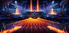 ArtStation - Electronic Music Club Concepts, Ian Boe