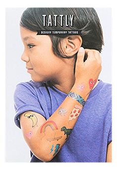 Tattly Temporary Tattoos Kids Mix 1 Ounce *** Want additional info? Click on the image. Note:It is Affiliate Link to Amazon.