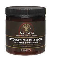 As I Am Hydration Elation Conditioner is an intensive conditioner that gives natural hair a deep-down hydrating treatment needed for curls