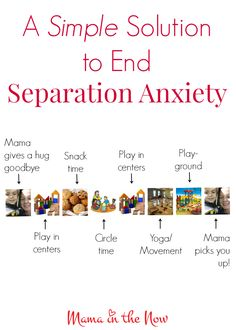 A simple solution to end separation anxiety. Using a tool from the Conscious Discipline approach to parenting, we no longer have tearful drop offs or mornings. Working mothers and parents of preschool children, this will save your mornings.