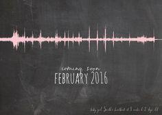 Pregnancy Announcement - Ultrasound Heartbeat - Grandparents - Sound Wave Art…