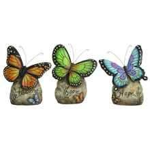 3-Pc Modern Multicolor Butterfly