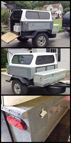Camping Trailer Ideas Diy Tent 28 New Ideas Bug Out Trailer, Off Road Trailer, Trailer Plans, Trailer Build, Expedition Trailer, Overland Trailer, Pick Up, Adventure Trailers, Camp Trailers