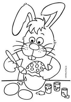Afbeeldingsresultaat voor kleurplaten pasen on pinterest Easter Coloring Sheets, Easter Colouring, Colouring Pages, Coloring Books, About Easter, Sketch Notes, Spring Crafts, Happy Easter, Diy For Kids