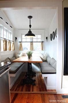 A Relaxed Bungalow In Portland Oregon DesignSponge Design - Craftsman bungalow kitchen breakfast nooks