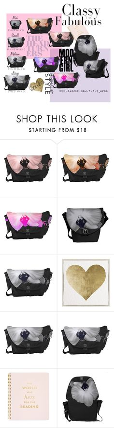 """""""Soft Orchids Messenger Bag 