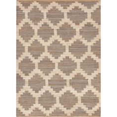 Handmade Flat Weave Moroccan Pattern Brown Rug (8' x 10') - Overstock™ Shopping - Great Deals on 7x9 - 10x14 Rugs